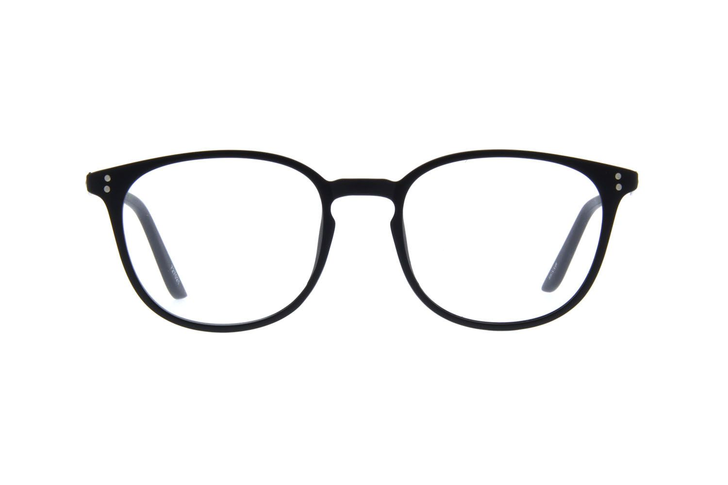b31993a0981 Zenni Womens Round Prescription Eyeglasses Black Plastic 727021 ...