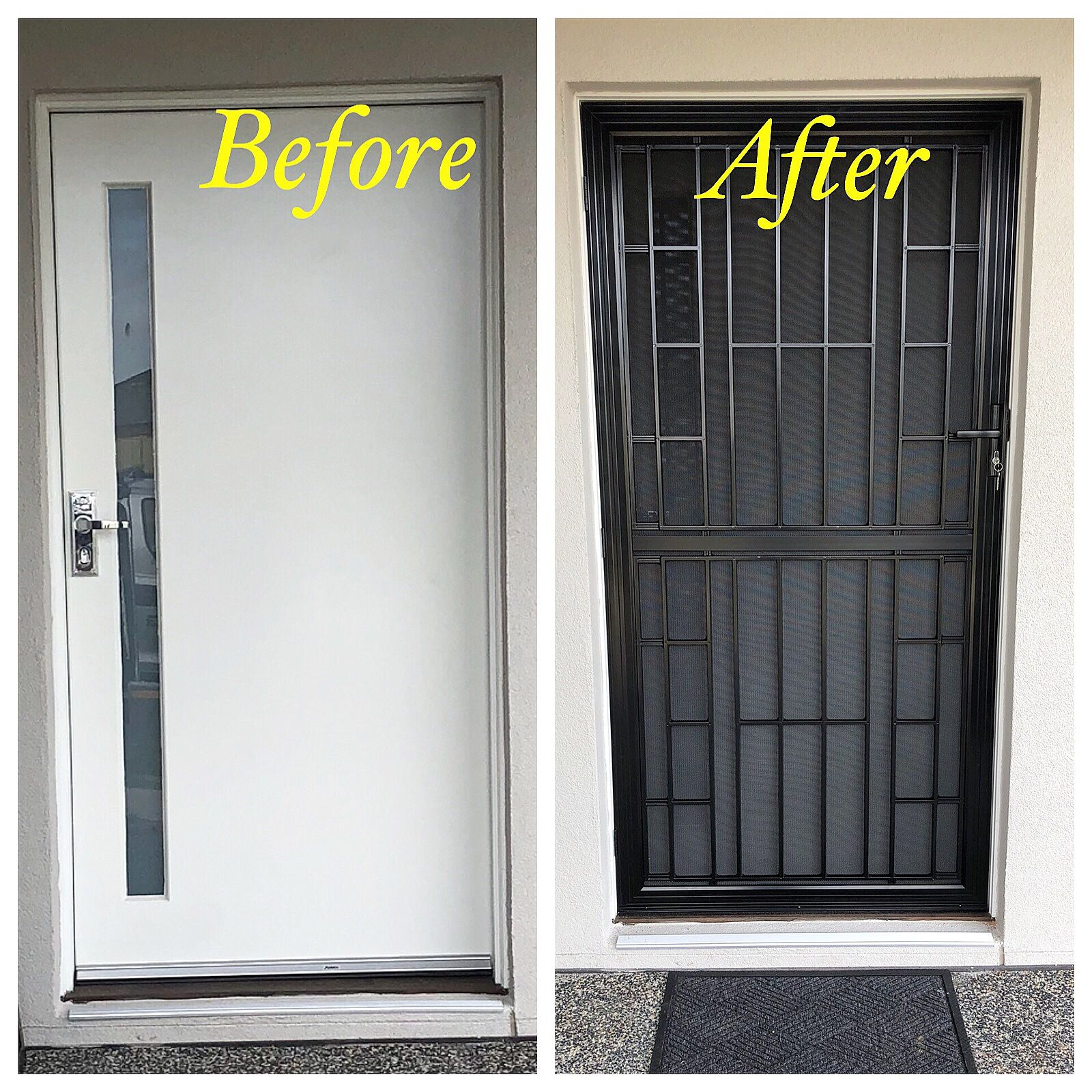 Safer home and looks more stylish as well #securitydoor # ...