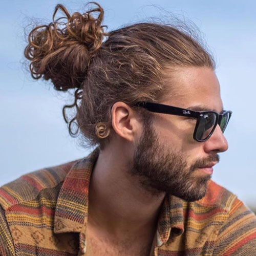 39 Best Curly Hairstyles Haircuts For Men 2020 Styles Man Bun Curly Hair Long Curly Hair Men Man Bun Hairstyles