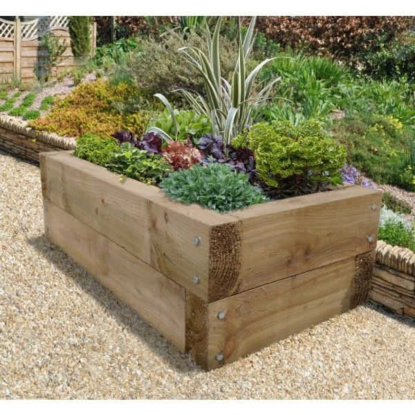 Forest Sleeper Raised Bed