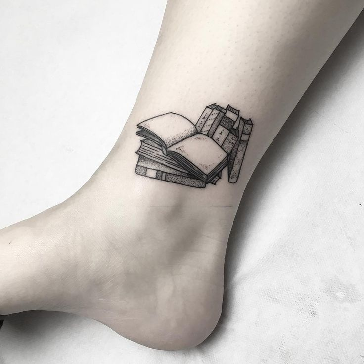 Tiny Tattoo Idea 18 Book Tattoos For The Ultimate Reader With Images Bookish Tattoos Book Tattoo Book Inspired Tattoos