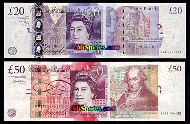 Great Britain Banknotes Paper Money Catalog And British Currency History