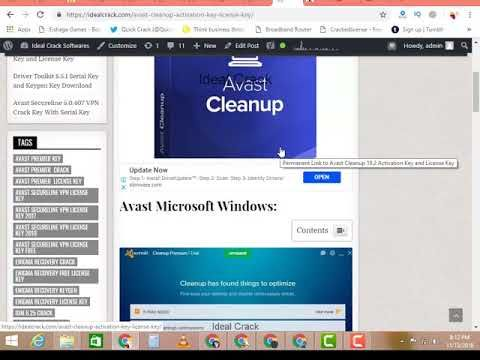 avast cleanup license key 2019