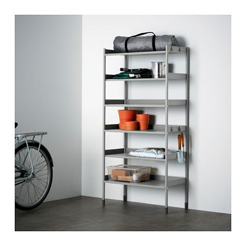 hind shelving unit inoutdoor ikea also stands steady on an uneven floor since the