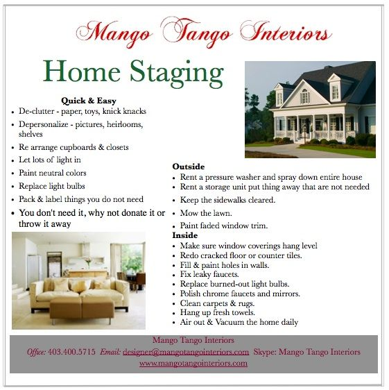 Staging Your Home For Sale. #staging #home STAGING