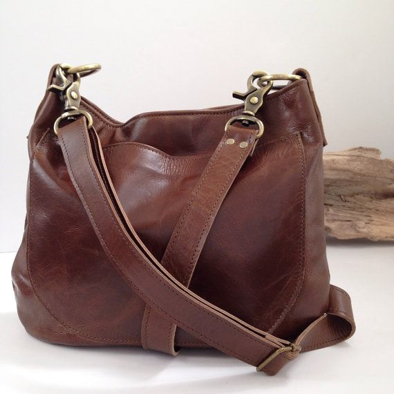 UKSANA - Leather Bag - Leather Hobo Bag - Brown Leather Crossbody - Boho  Chic - Boho Bag - Womens Purse - Womens Crossbody - More Colors 4fbc1b2864c7b