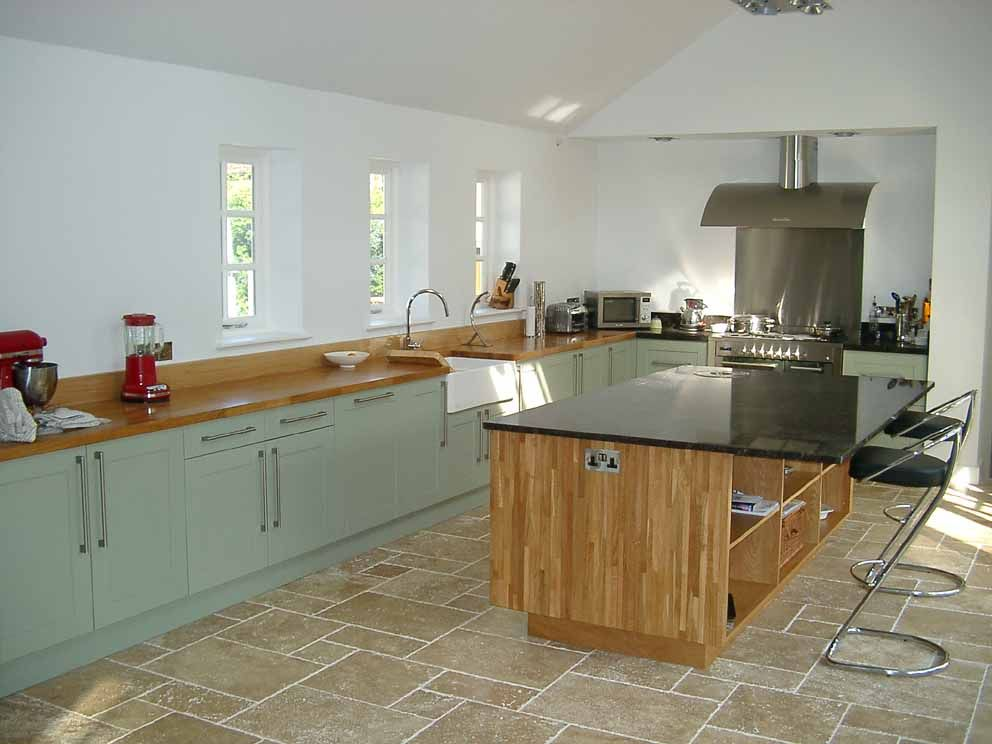 Colour Study Farrow And Ball French Gray Light Blue Kitchens Modern Country Style French Grey