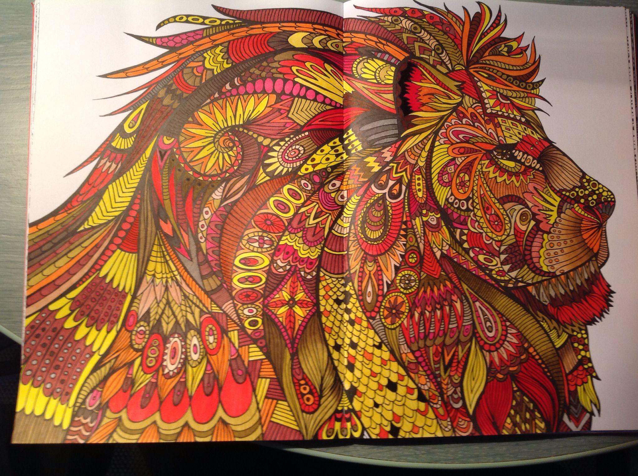 Bestiaire lisa art th rapie pinterest art th rapie therapie et extraordinaire - Coloriage art therapie ...