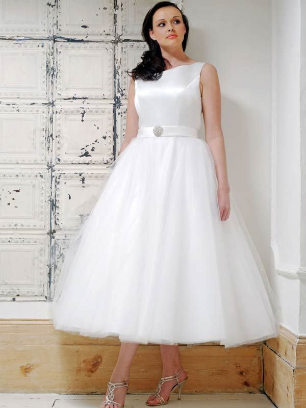ML Tailor Tea Length Wedding Dresses (Source: mltailor.com) | Miss ...
