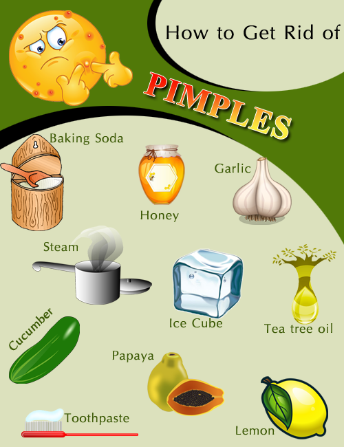 remedies to get rid of pimples