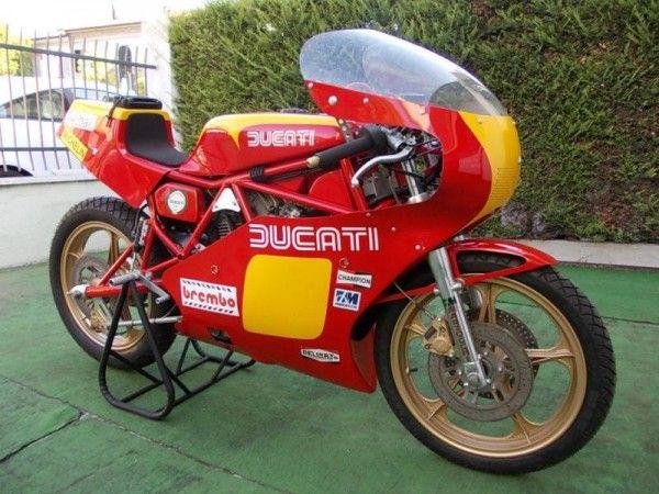 Italian Sculpture 1980 Ducati Tt2 R Motor