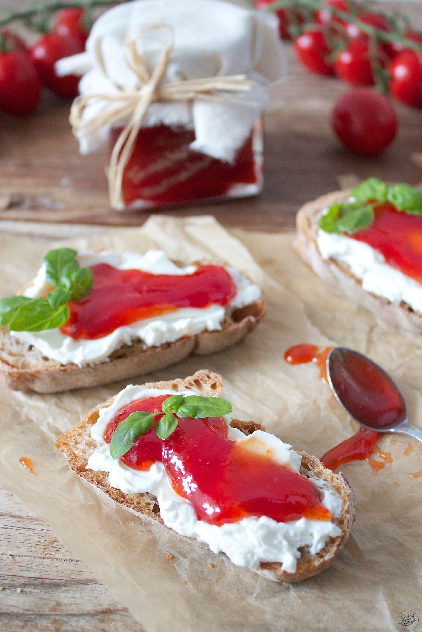 Photo of Tomato jam Paradeis jam – sweets & lifestyle