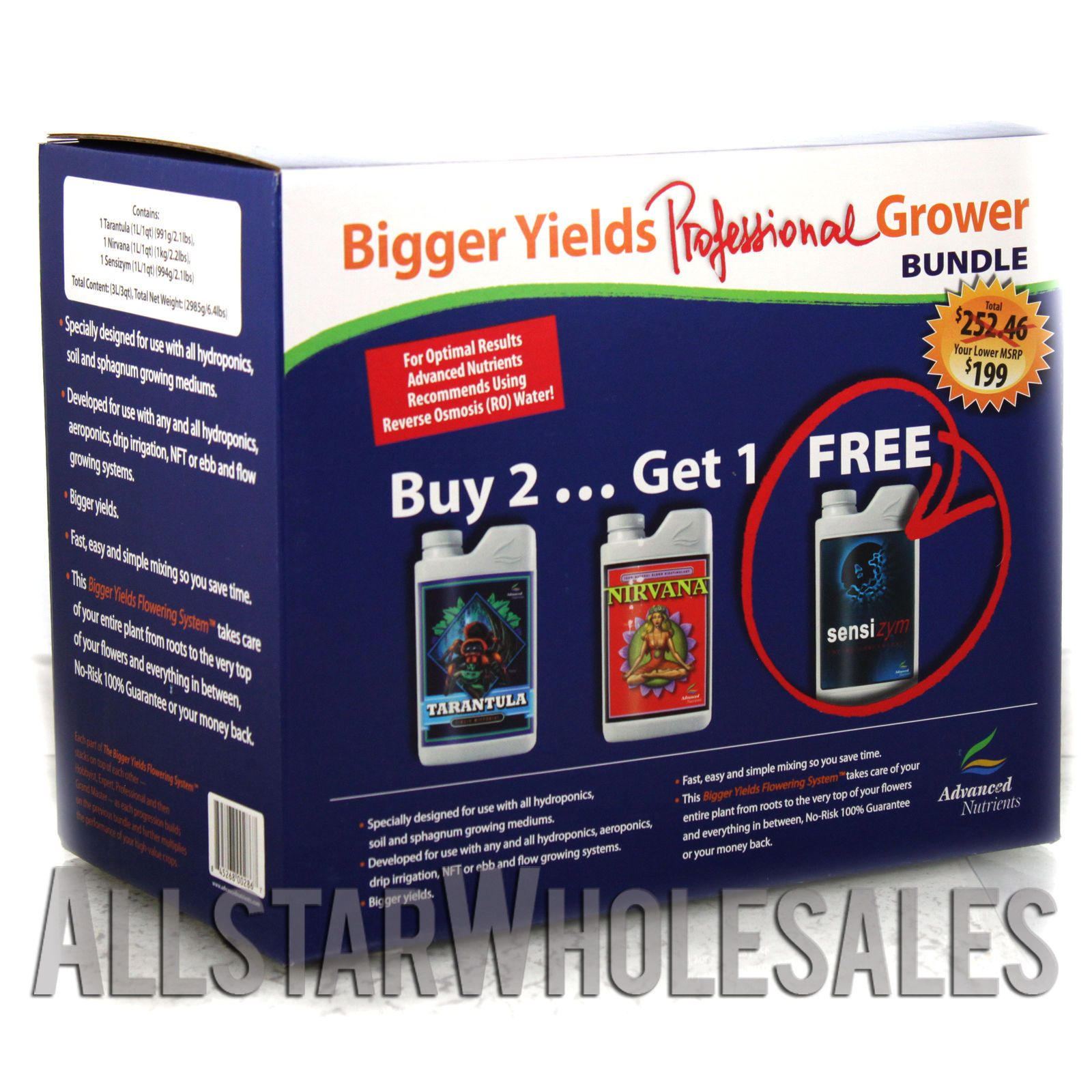 Details about Advanced Bloom Grow Micro 500mL & Nirvana