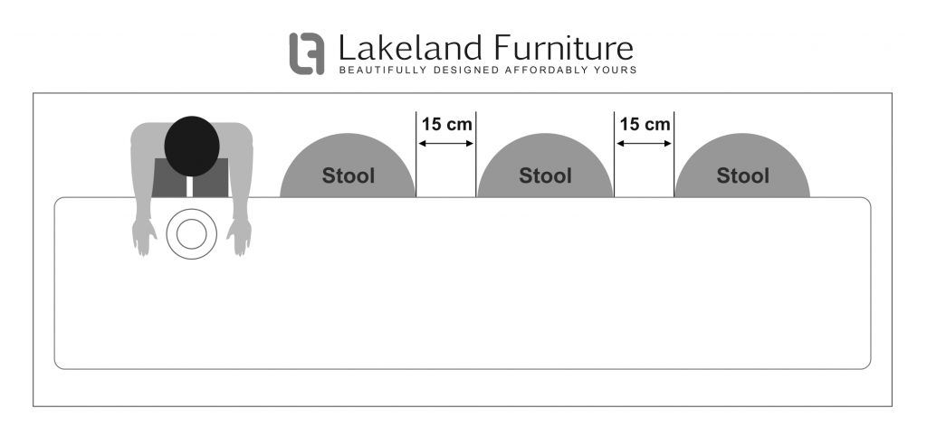 Bar Stool Size Guide What Height And Width Should It Be Bar Stools Stools For Kitchen Island Bar Stools Kitchen Island