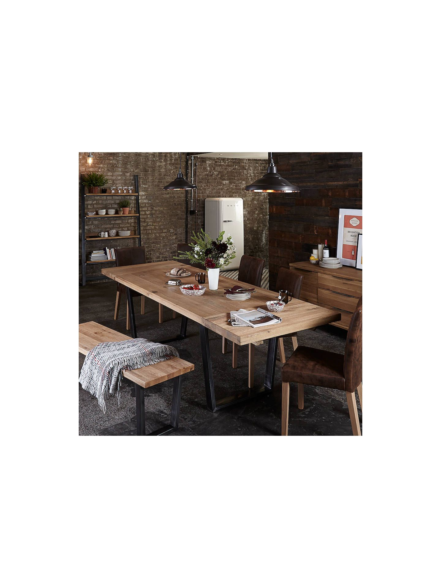 John Lewis Partners Calia 8 Seater Dining Table Oak 8 Seater