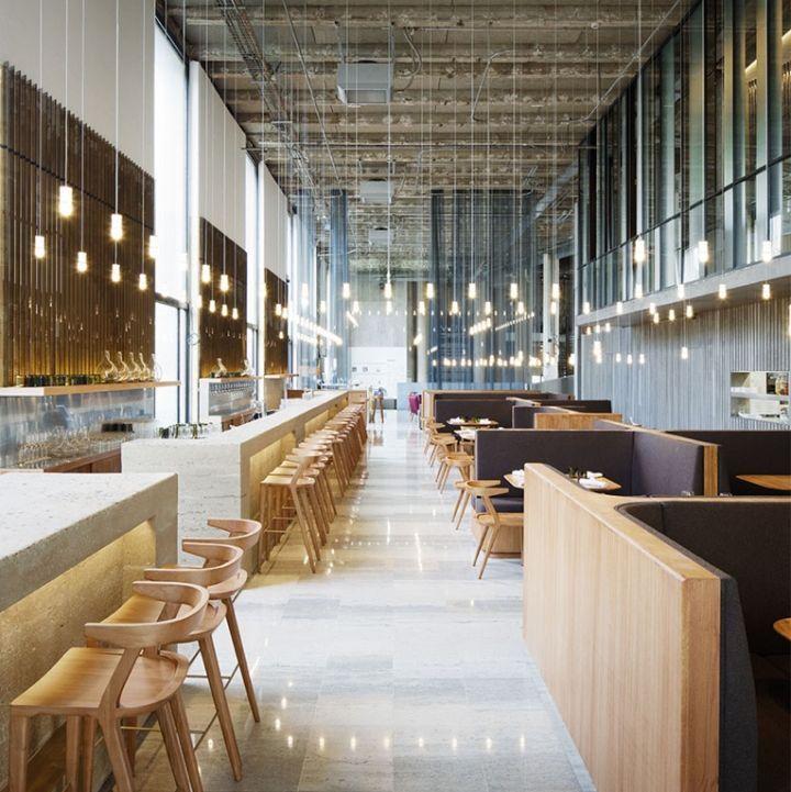 Les Grands Verres restaurant by Lina Ghotmeh, Paris – France ...