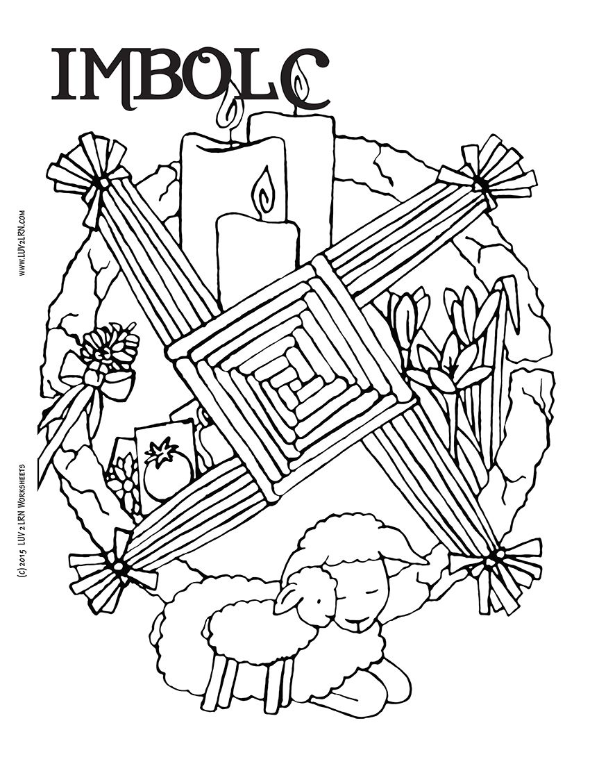 Pagan Samhain Coloring Pages Sabbats Coloring Pages Book Of