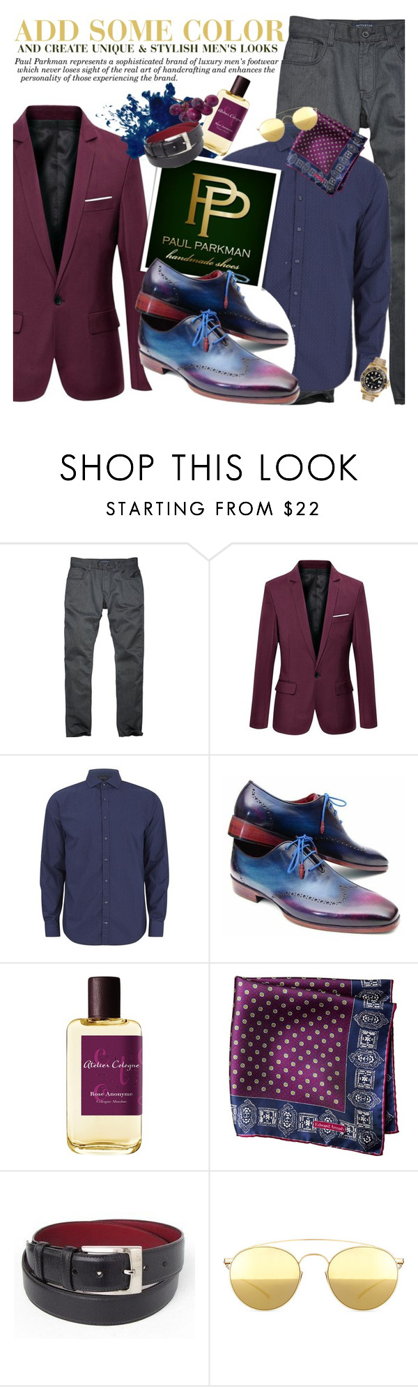 """""""PAUL PARKMAN - Add some color!"""" by anita-n ❤ liked on Polyvore featuring Tommy Hilfiger, Atelier, Mykita, Rolex, women's clothing, women's fashion, women, female, woman and misses"""