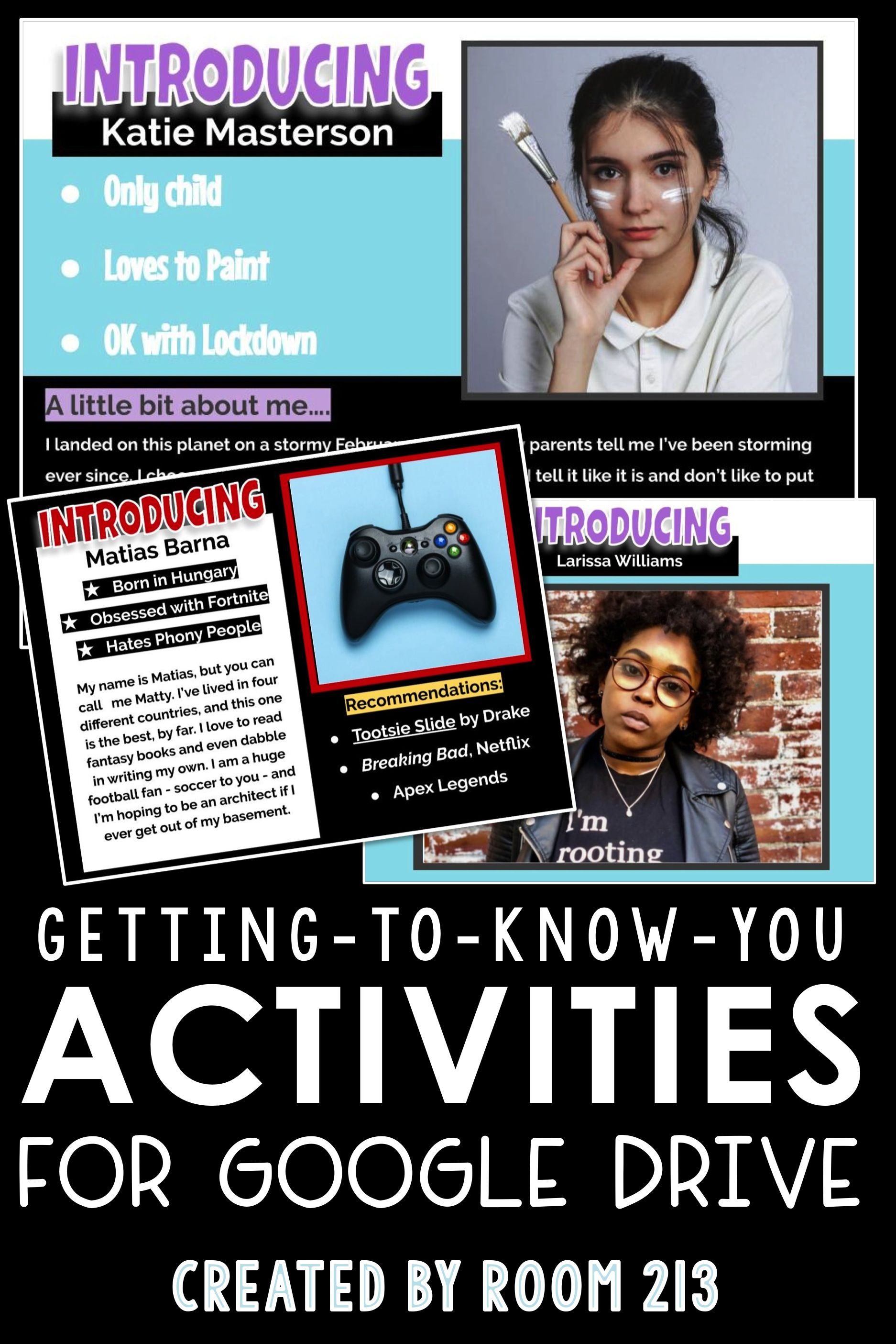 Photo of This engaging activity will allow your students to introduce themselves to you a…
