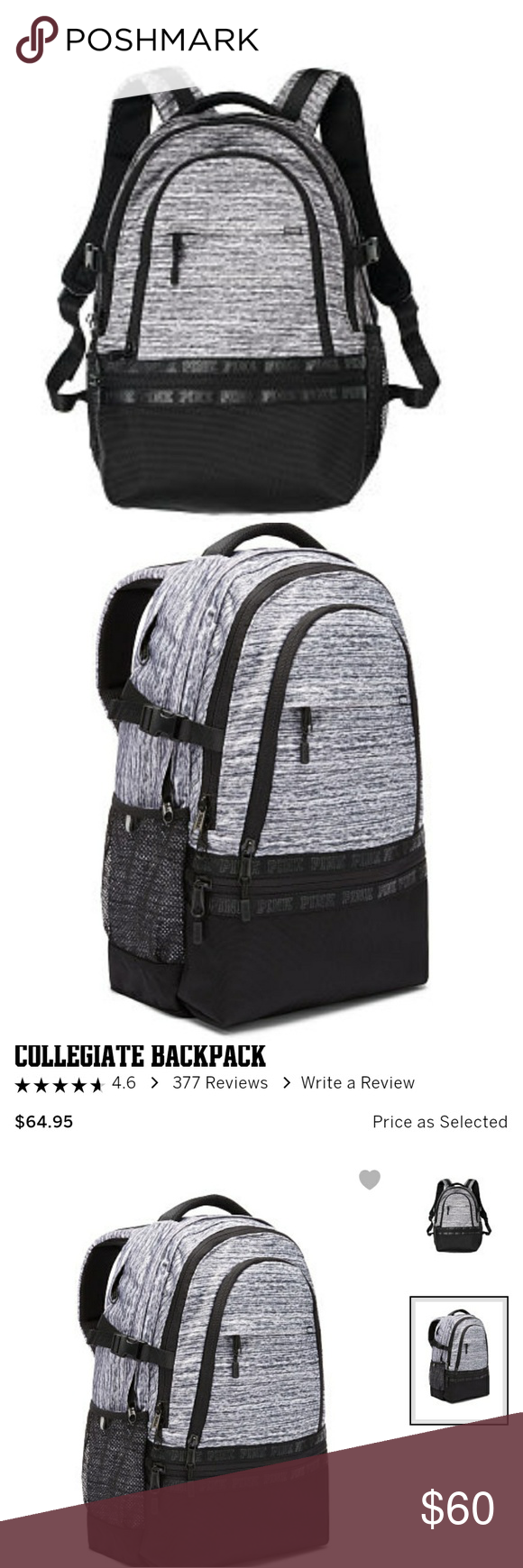c0f420bfb6 Victoria Secret Pink Collegiate Backpack Review- Fenix Toulouse Handball