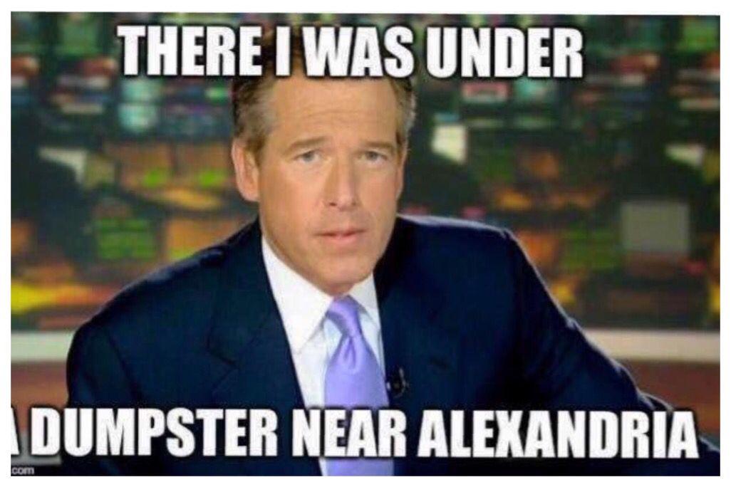 Sure he was...