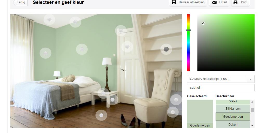 Gamma Kasten Slaapkamer : Slaapkamer gamma goedemorgen groene muur moodboard