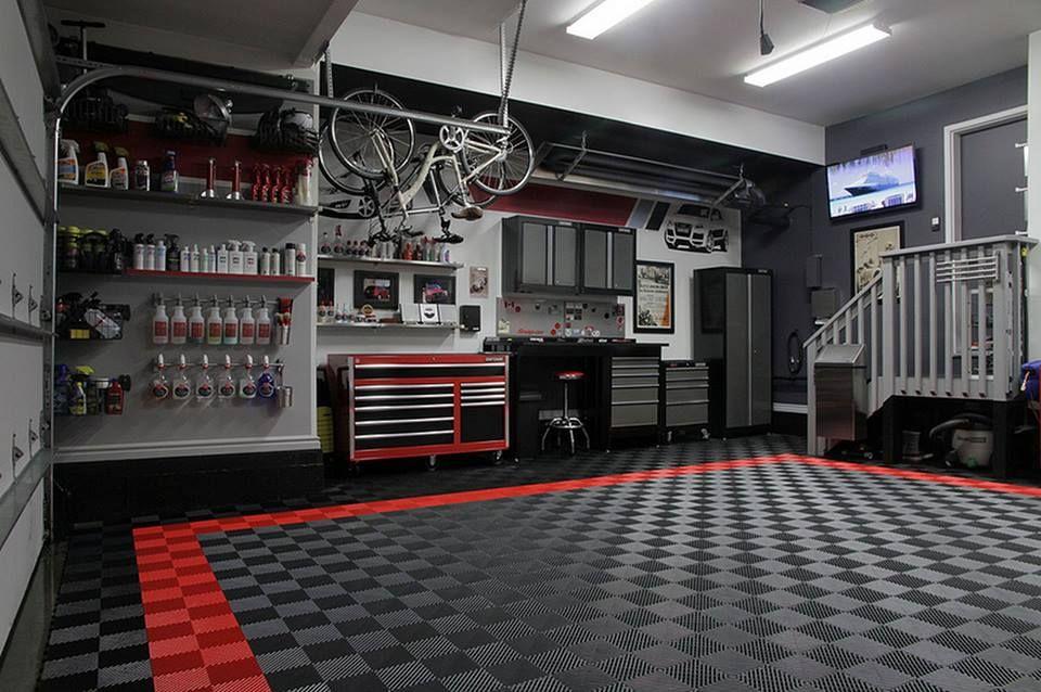 RaceDeck garagefloor for the CoolestGarageOnTheBlock