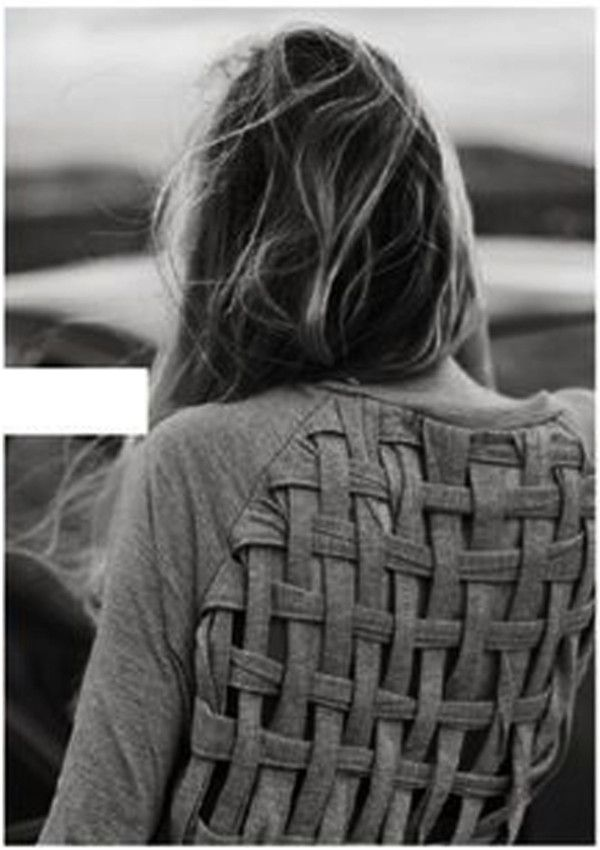sweet woven t-shirt.  Found on Wheretoget.it