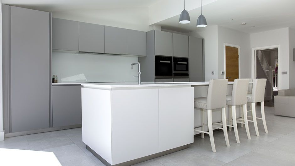 Best Grey Lacquer Kitchen Acton Grey Kitchens Functional 400 x 300