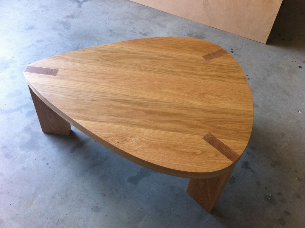 oak guitar pick coffee table   resistant materials musically
