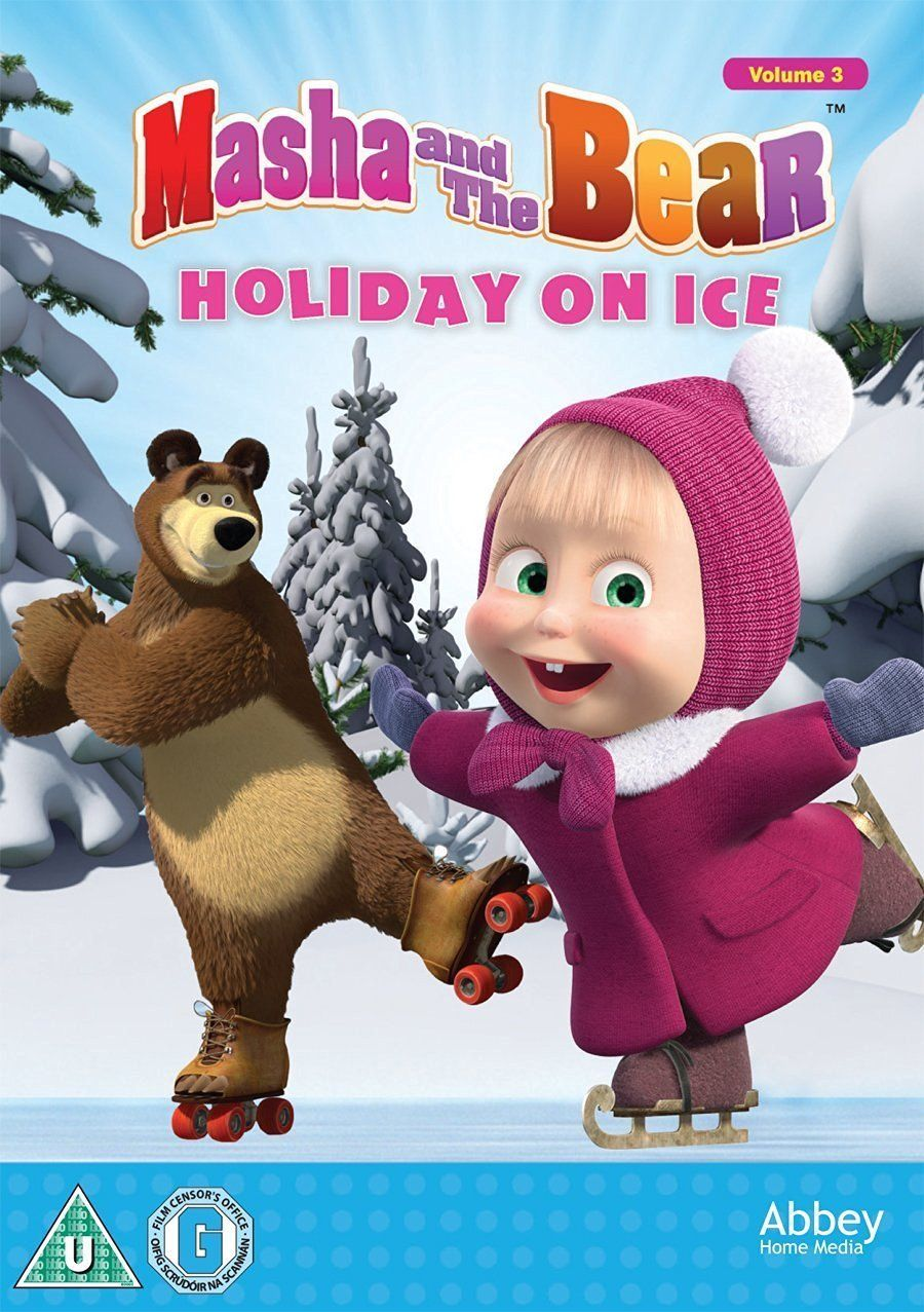 Masha and the Bear - Holiday On Ice [DVD] | TV Shows | Christmas ...