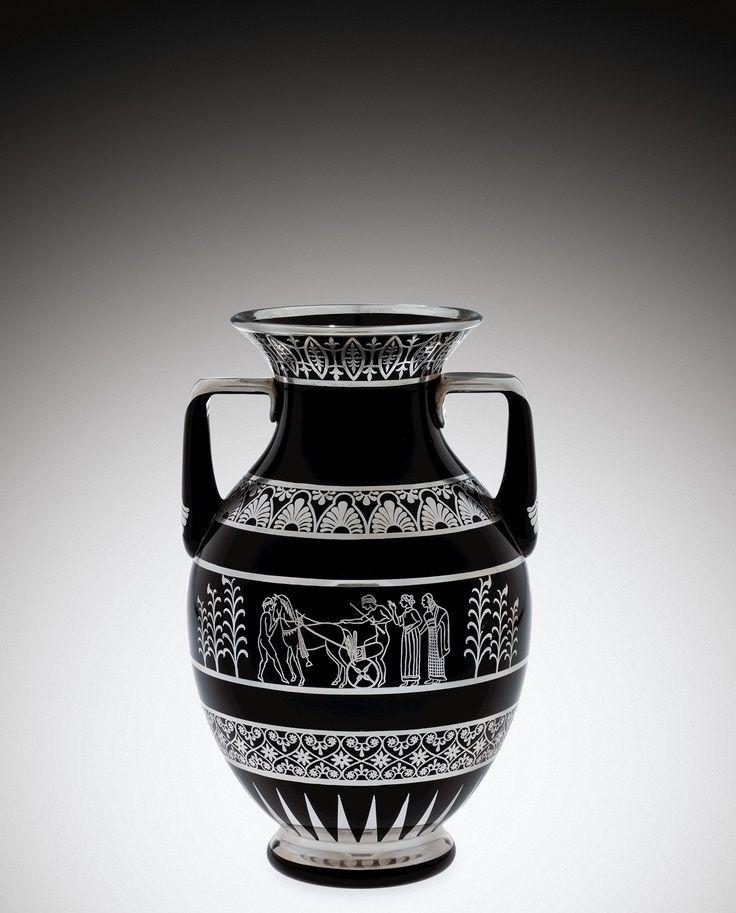 Black And White Vase Urn Pinterest White Vases And Urn