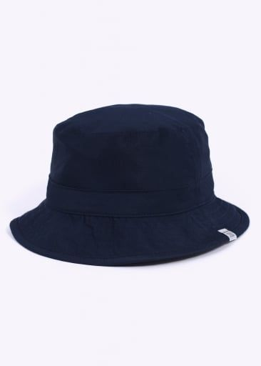 ee0979d1c5d Norse Projects Reversible Light Ripstop Bucket Hat - Navy / Grey ...