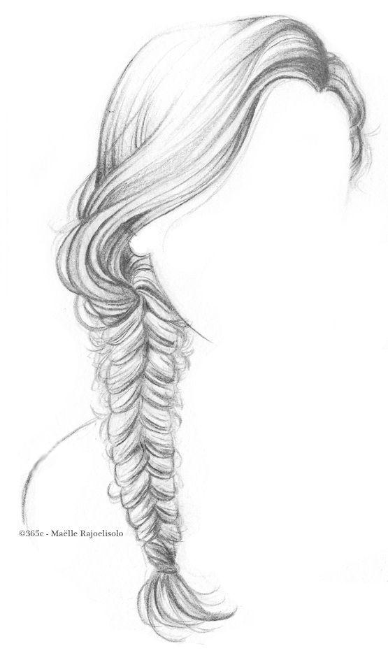 Paulette magazine une jolie coiffure en moins de 15 minutes dessiner pinterest - Comment colorier un manga ...