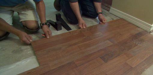 How To Install Laminate Flooring Floor Pinterest Installing