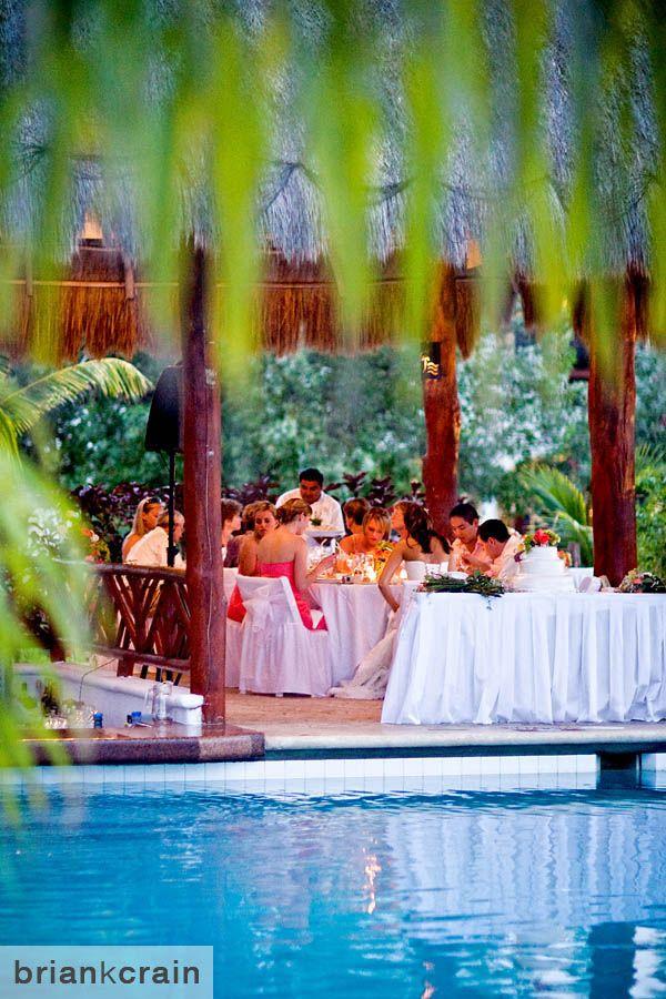Wedding Reception Gourmet Inclusive At The El Dorado Royale Mexico Destinationwedding