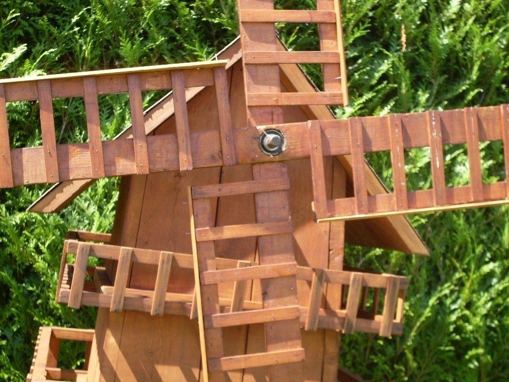 Fabriquer Un Moulin A Vent De Jardin