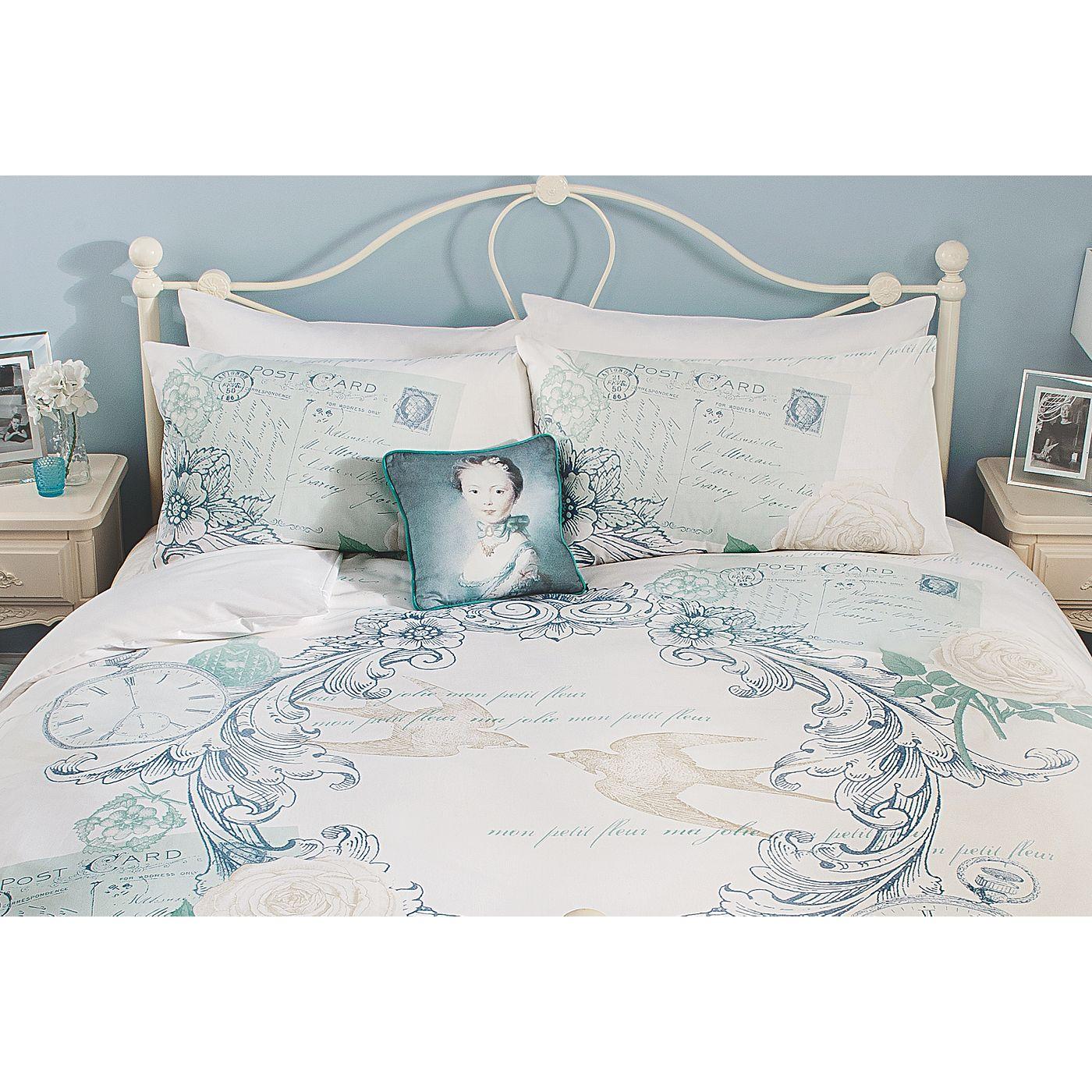 George Home Heirloom Postcard Duvet Set | Bedding | ASDA direct ...