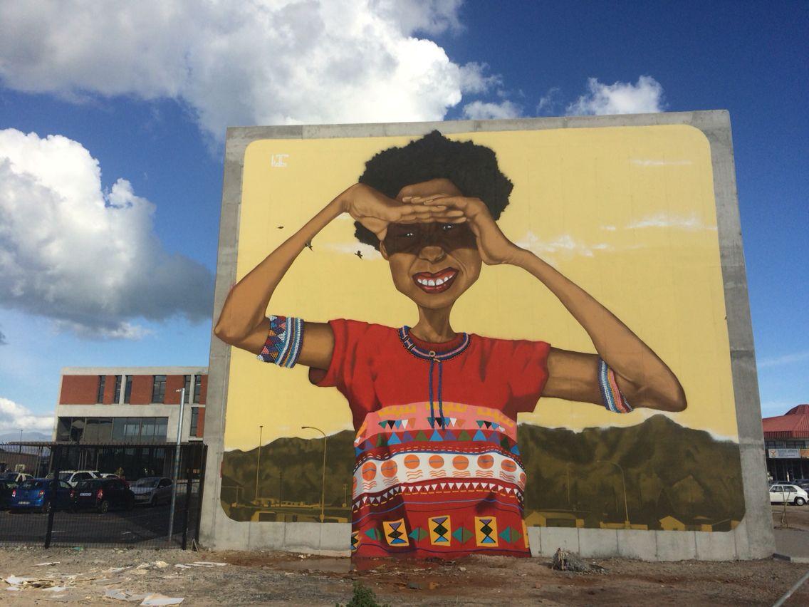 Boniswa\' a mural by Breeze Yoko aka Kasi1 | off the wall | Pinterest ...