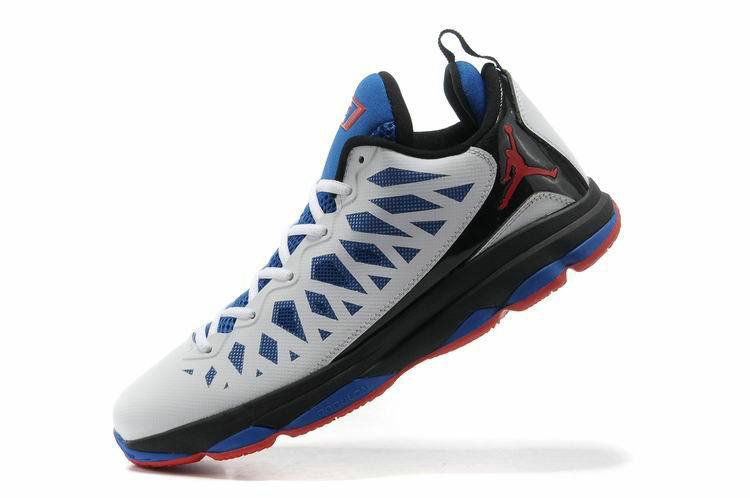 info for 08729 69cf2 Free Shipping Only 69  Jordan CP3.VI Home White Black Game Royal Sport Red
