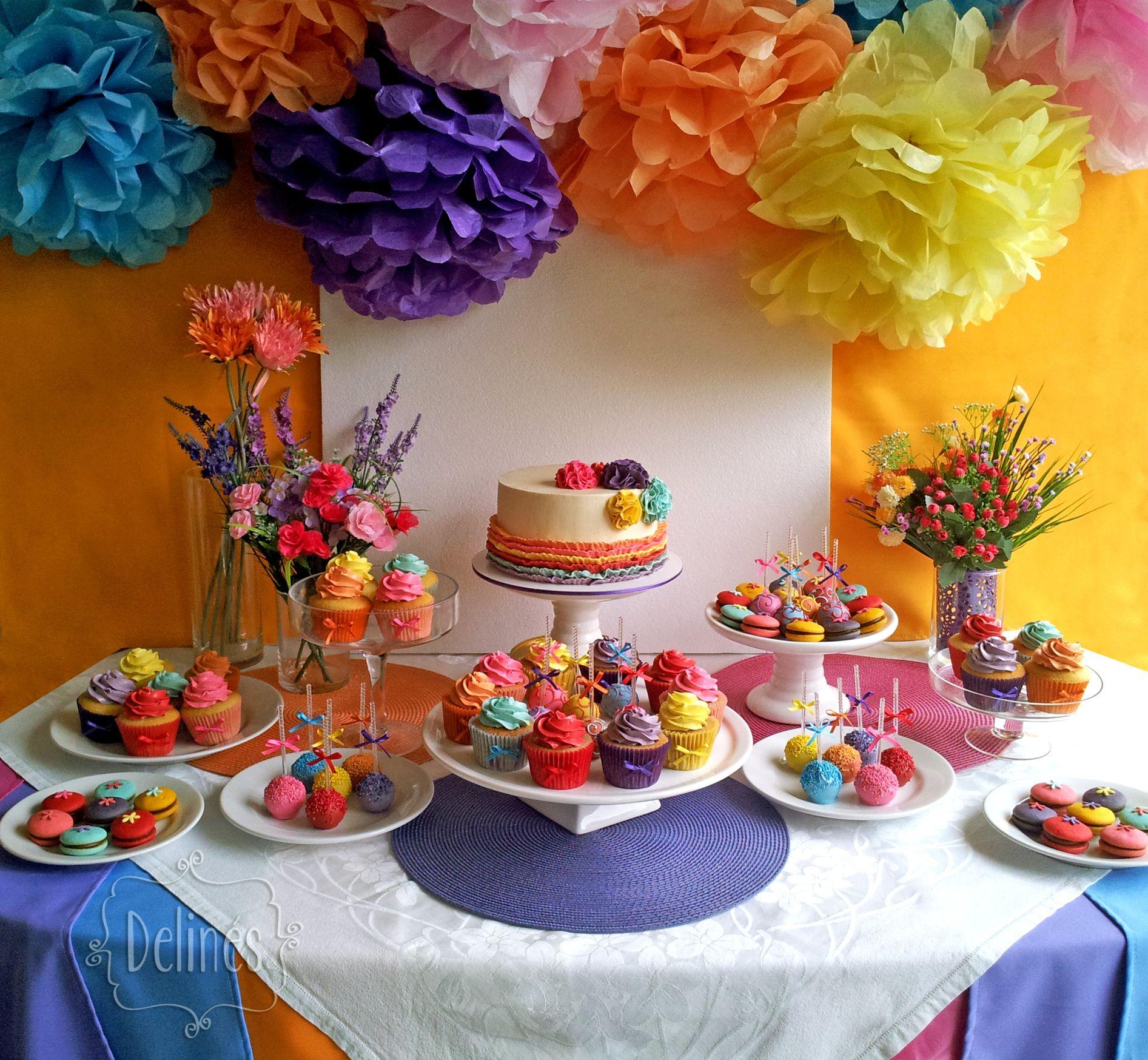 delinesmesadulceles multicolor mesa dulce