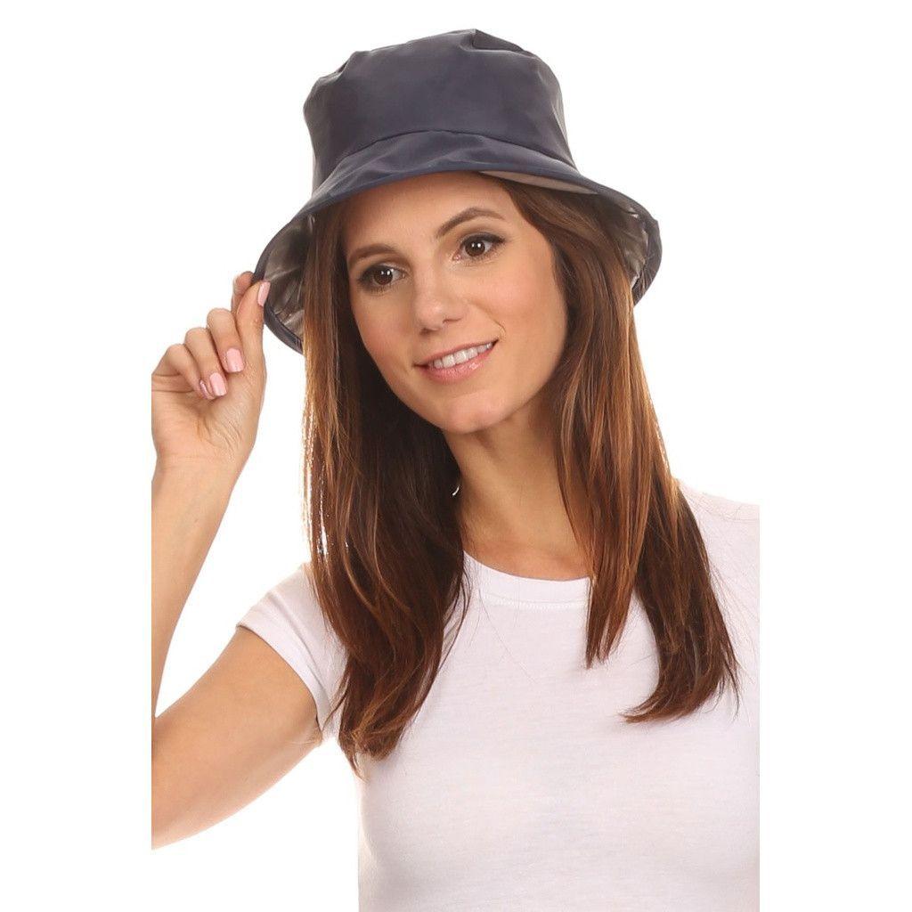 Twist to Pack Rain Hat