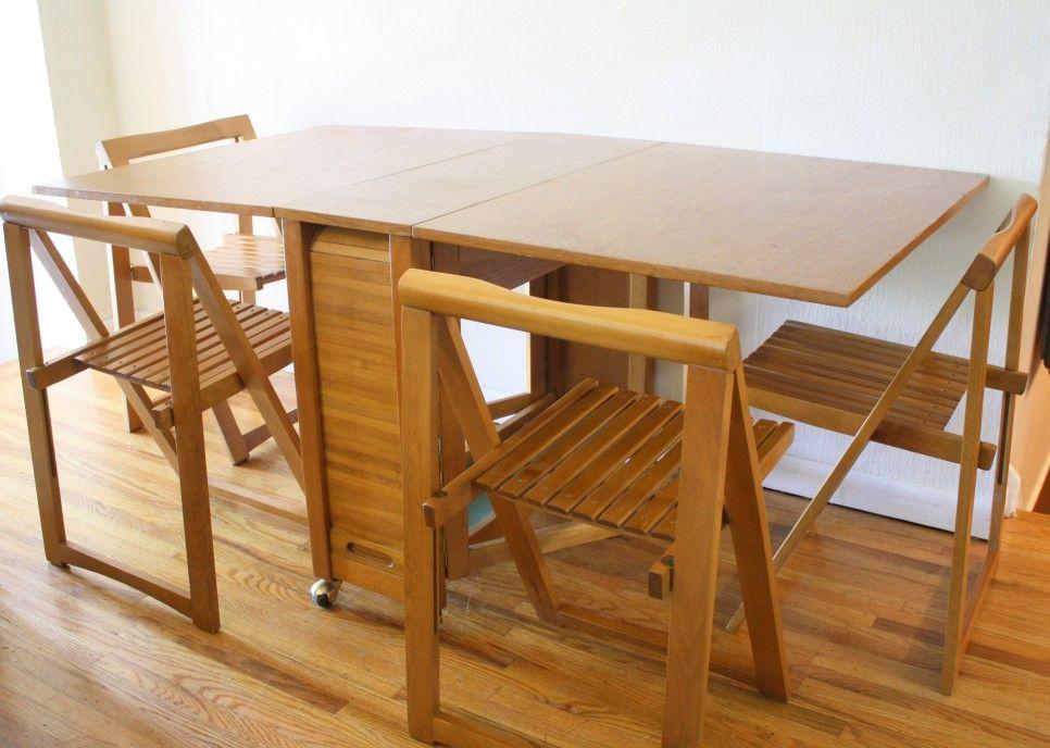 Furniture Rectangular Modern Norden Gateleg Drop Leaf Dining