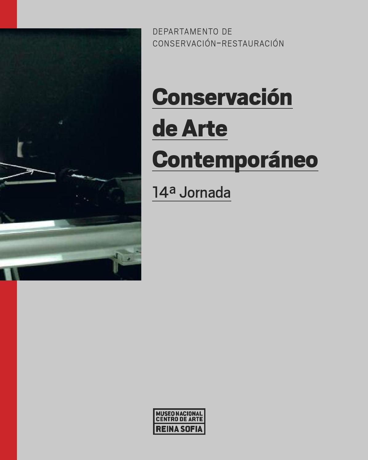 Conservación de Arte Contemporáneo. 14ª Jornada
