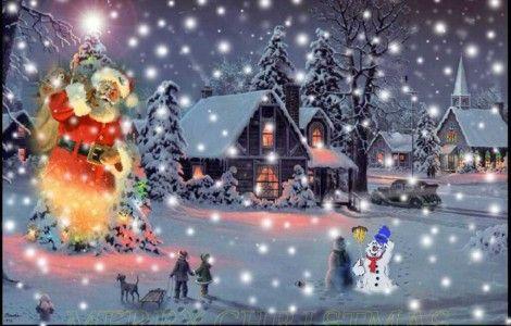 Fond D Rsquo Ecran Anime Gratuit Noel Avec Images Decoration Noel Images Joyeux Noel Gif Joyeux Noel
