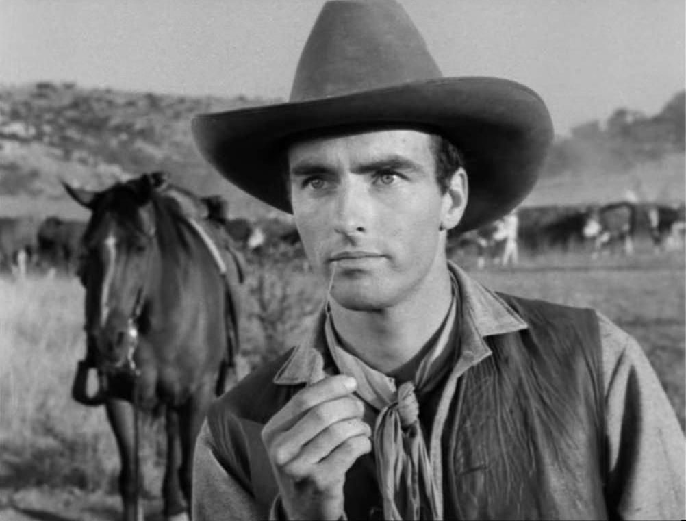 Clift in Red River (1946)