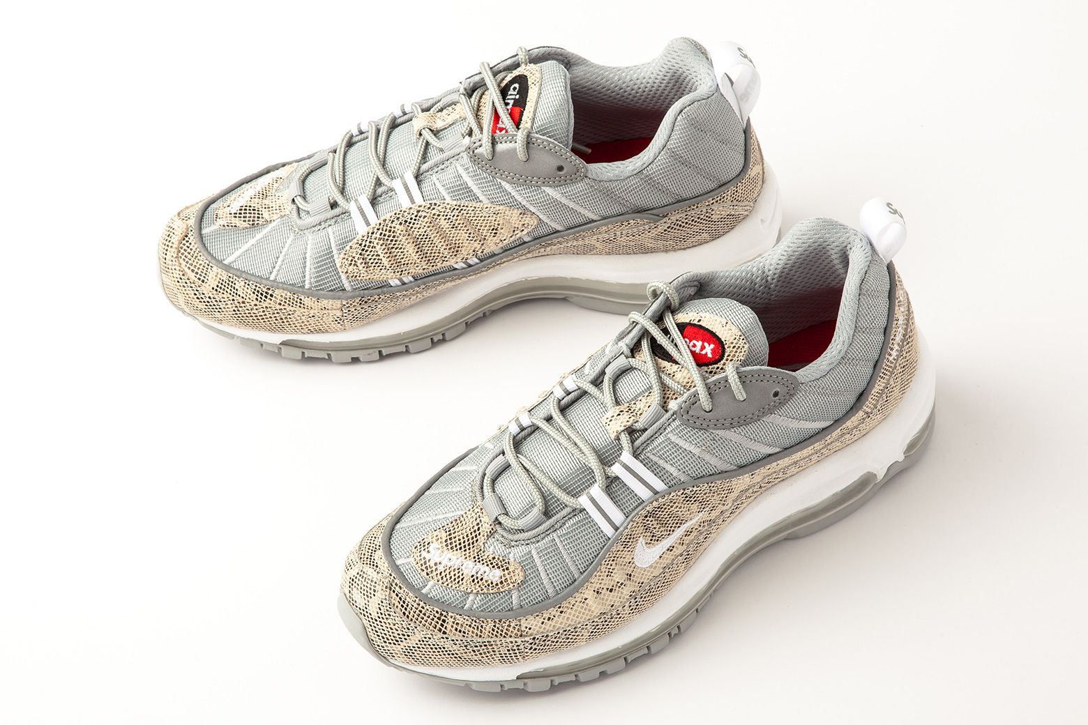 Supreme x Nike Air Max 98 Sail 844694 100 |