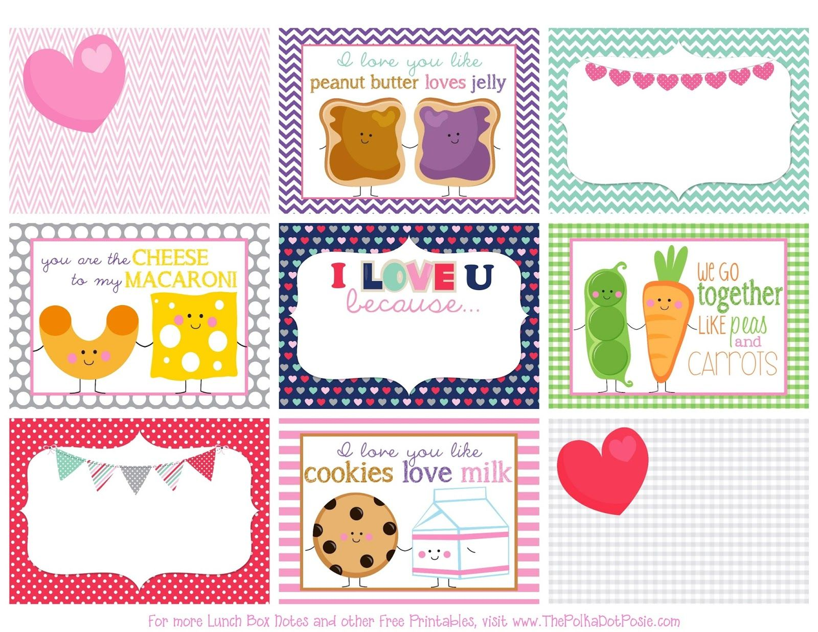 images about FREE Lunch Box Notes Lunch box