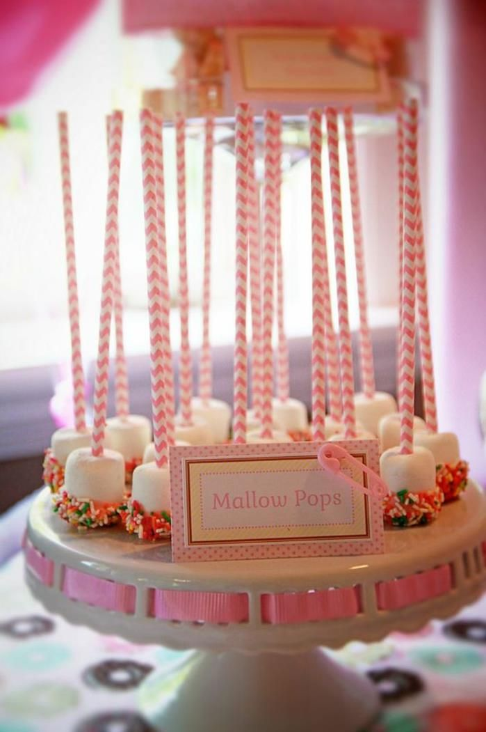 Pink Baby Sprinkle Shower Party Planning Ideas Supplies Girl Baby