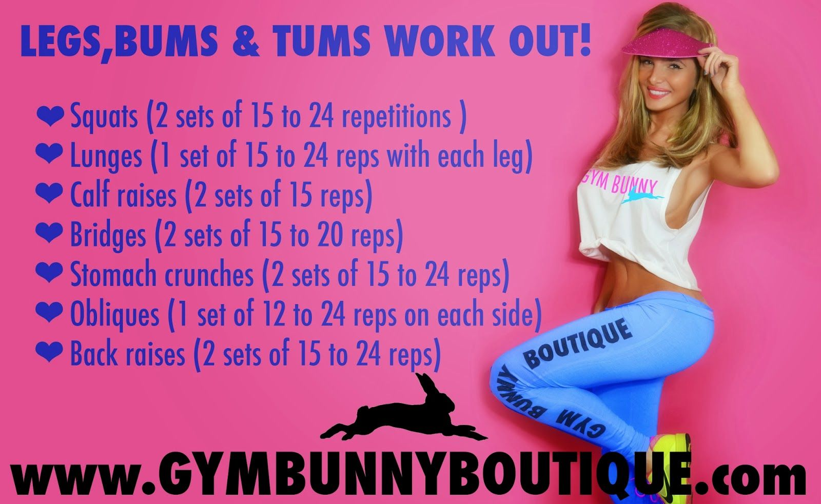 legs bums tums | Cardio | Pinterest